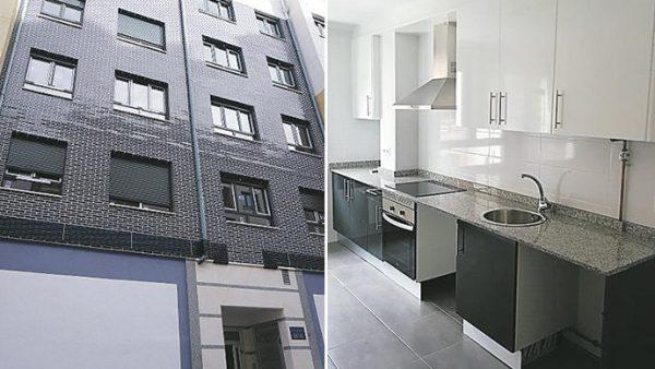 Una constructora pone a la venta pisos nuevos por 80.000 euros en Asturias
